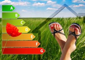 Energy Efficient Feet up